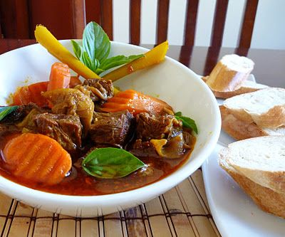 I'm not a fan of beef, but this dish I absolutely love. Perfect on a cold day~ Vietnamese Beef Stew (Bo Kho)
