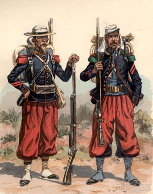 French Foreign Legion, Mexico