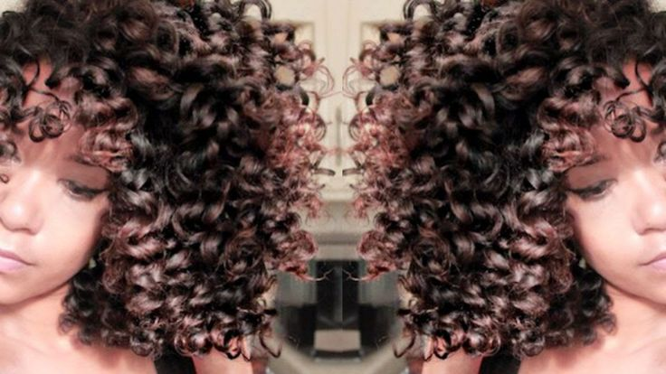 Natural Hair ||  How to get bouncy, voluminous curls