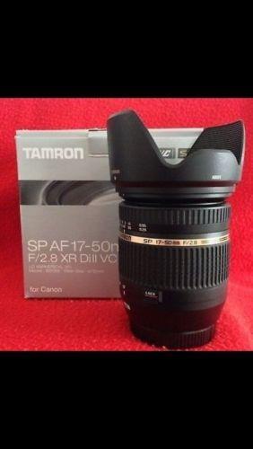 Tamron SP AF 17-50mm f2,8 Xr Di2 VC Attacco Canon + Filtro Uv Slim STABILIZZATO