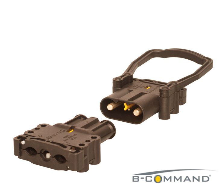 B-COMMAND DC-Steckverbinder Serie Europe  B-COMMAND Charging Connector Series Europe