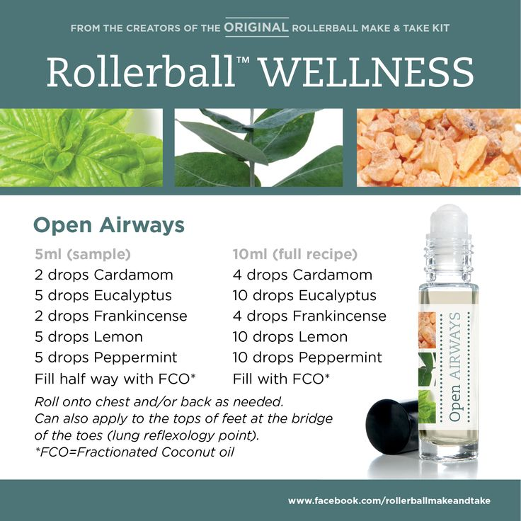 Open Airways Rollerball Wellness Make Amp Take Workshop