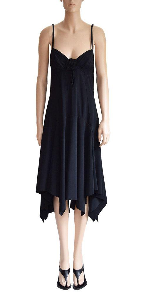 Vintage Dress Marithe Francois Girbaud Black Dress Party