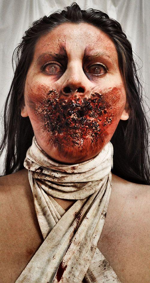 184 best Halloween make up images on Pinterest | Fx makeup, Make ...