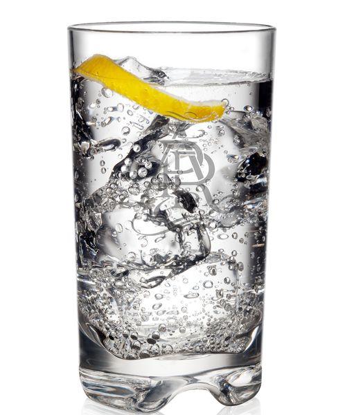 Laser Engravable Unbreakable Tritan Tall Bar Glass  - Set of 6