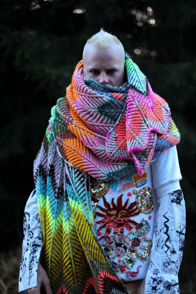Ravelry: Briochevron Blanket pattern by Stephen West