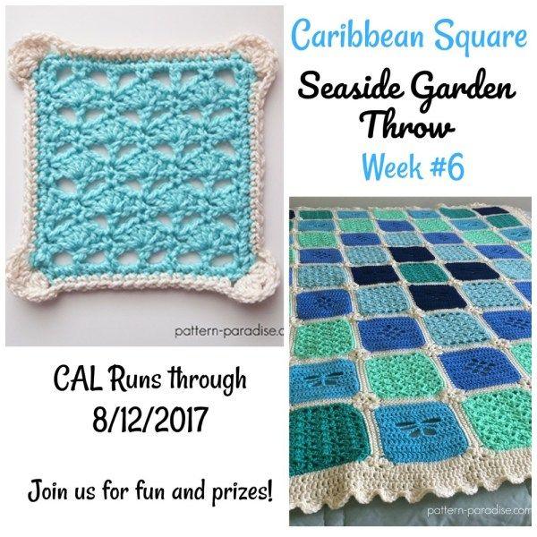 12 best Crochet > 2017 CALs images on Pinterest | Patrones de ...