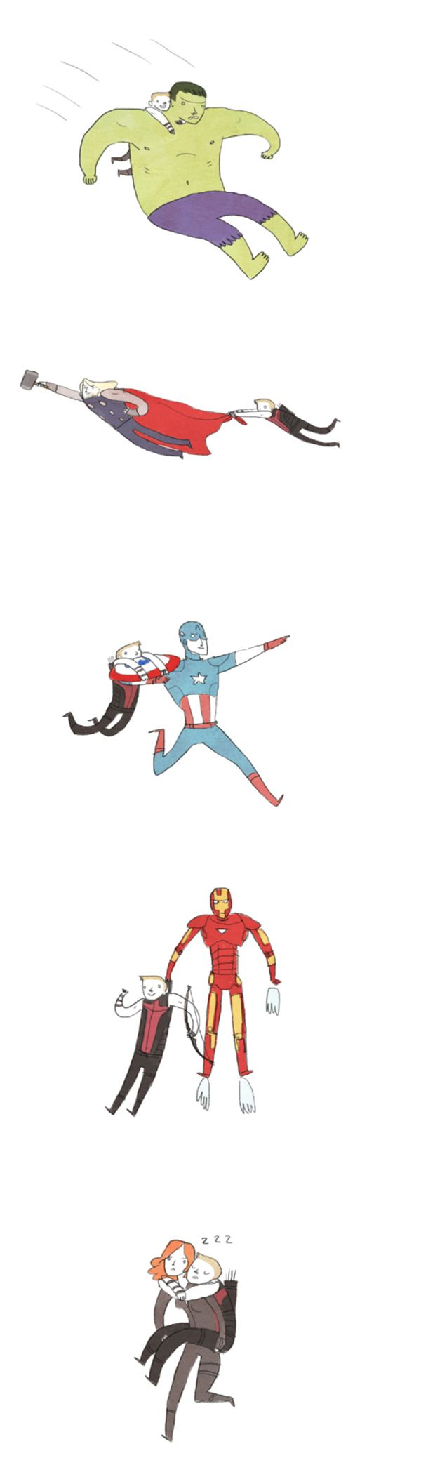 """""""Bitty Avengers"""" Parody Just As Good As The Real Thing"""