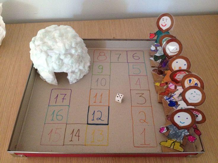 Board game Eskimo and igloo of yogurt cup and cotton ! http://lh3.ggpht.com/-FrME16lkX80/TxfDsQweRnI/AAAAAAAAEm0/QEU_ly5QhvA/ESKIMOS%252520KORITSI_thumb%25255B2%25255D.png?imgmax=800