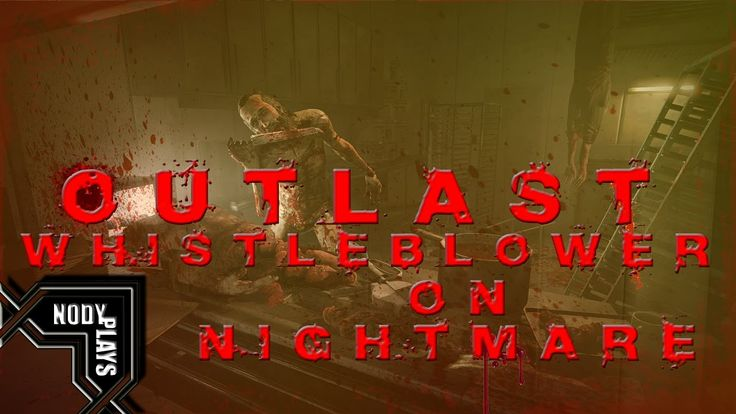 Twitch Livestream | Outlast Whistleblower FULL GAME on Nightmare Difficulty