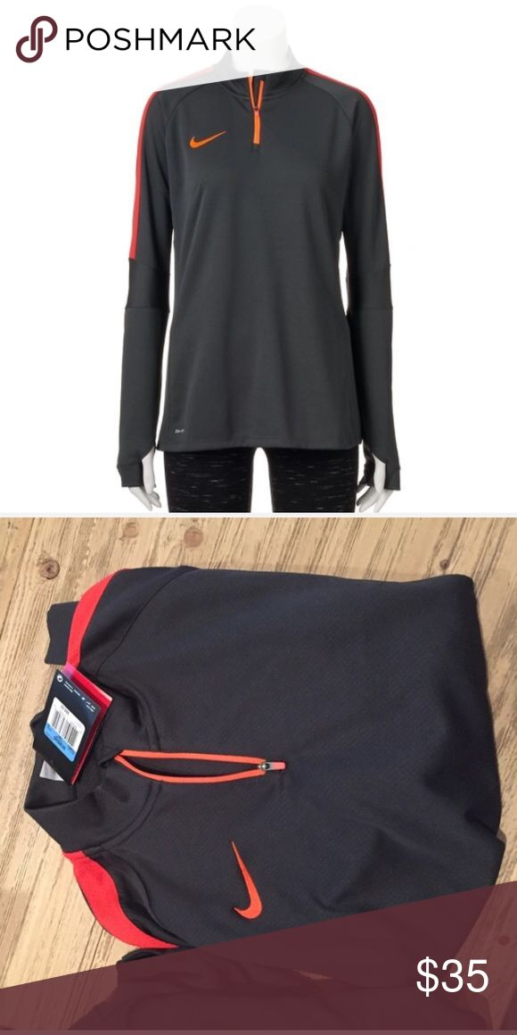 Nike pullover 1/4 zip dry fit ladies top One small, one medium and one XS.  All exactly the one on mannequin. Nike dry fit stay warm pullover. Retails $65 each Nike Tops