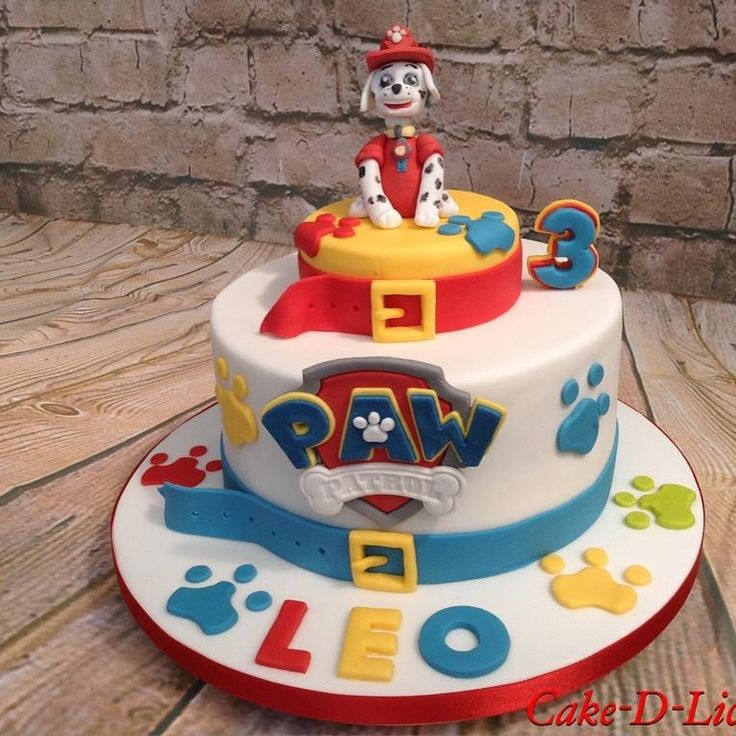 Paw Patrol by Cake-D-Licious