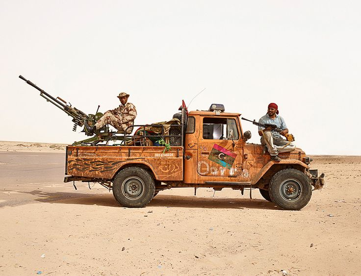Salah and Adel, near Ajdabiya, Libya  