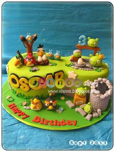 Angry birds by olanos cakes