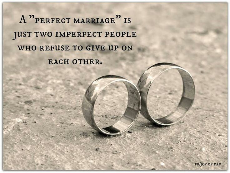 imperfect people refusing to give up on each other for my man ...