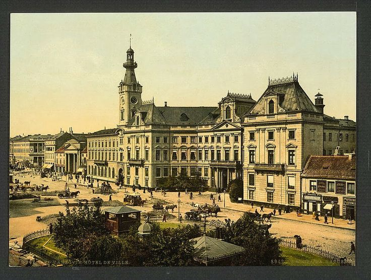 Warsaw (Poland) at the end of the XIX century | Synteza historii i sztuki