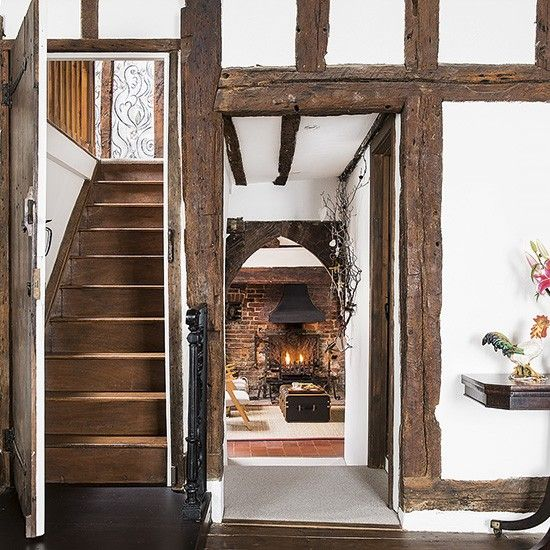1000+ Images About Country Cottage Entrance Hall-stairway