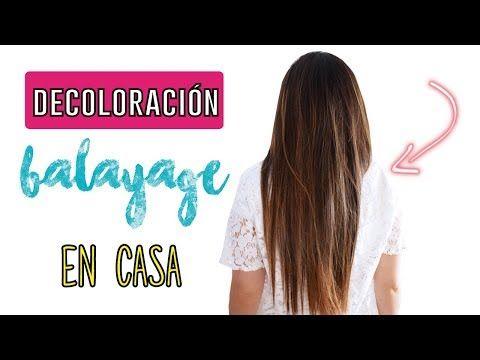 Decoloración y balayage en casa #balayage #decoloracion #hair