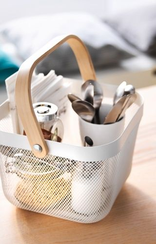 #IKEACatalogue2016  Cute basket for simple easy access storage and organisation.