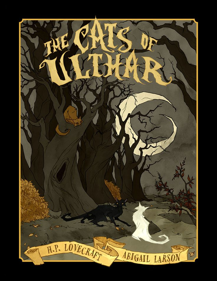 Abigail Larson's The Cats of Ulthar (eBook) Cthulhu