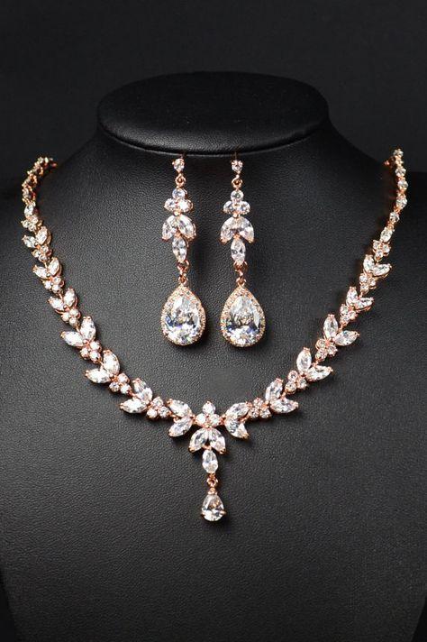 Joyería de Dama de honor regalo dama joyería nupcial de la