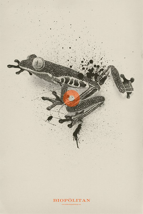 Great use of depth! POSTERS III by Mark Brooks, via Behance
