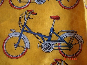 2 Vintage Echo Scarves New Bicycle Pattern Made in Italy Very Cute | eBay