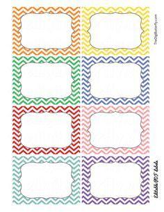 EDITABLE GREY CHEVRON LABELS - free | Classroom | Pinterest ...
