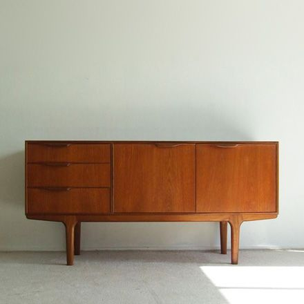 Teakwood small sideboard by McIntosh (4197)