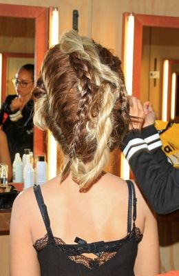 Photo diary - Hair Exam Dik Peeters Fashion Statements by Q  Amsterdam