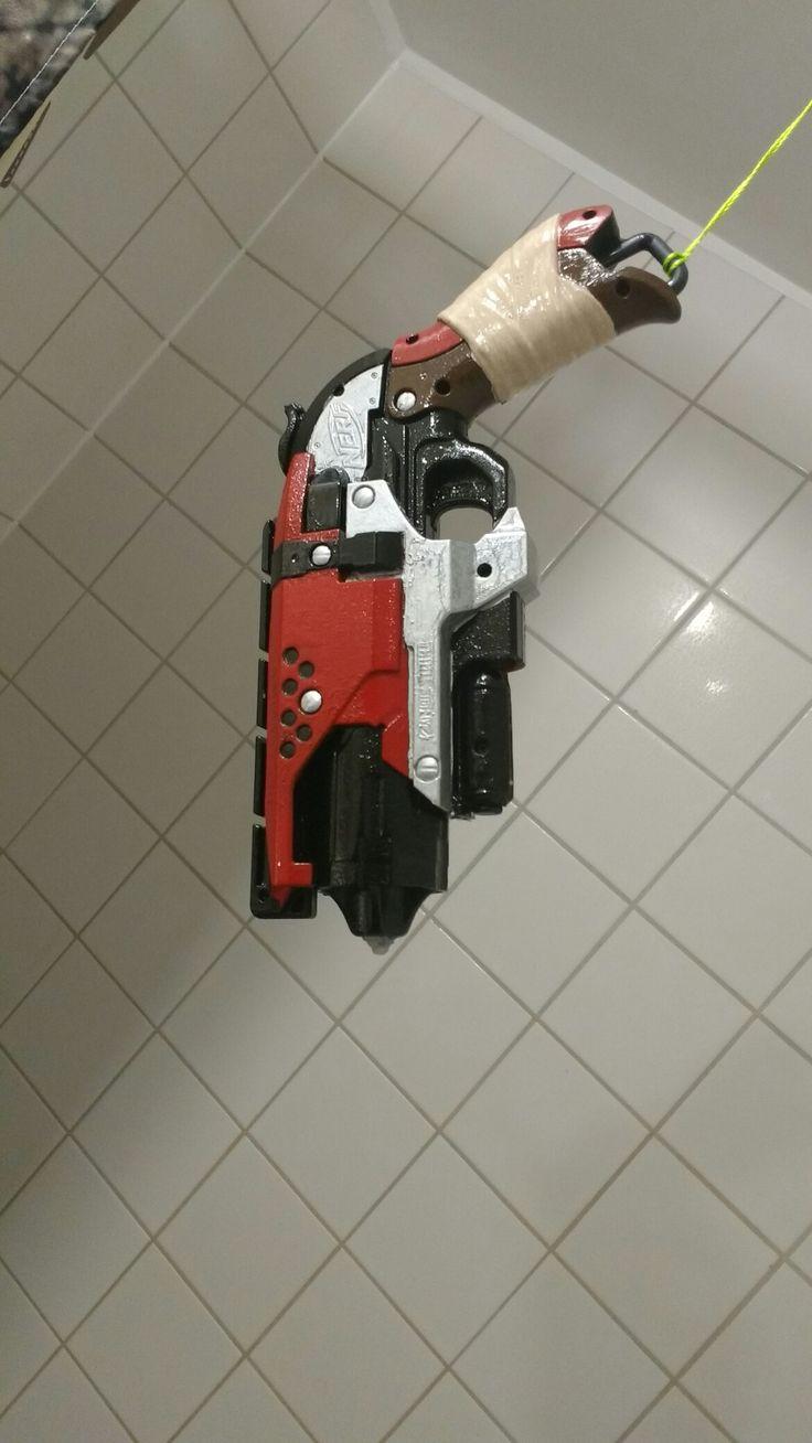 Nerf hammershot custom