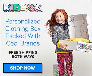 AD #Kidbox is a #personalized clothing box packed with cool brands, meaningful savings & a mission to clothe children in need! Get Free Shipping both ways and only keep what they love.