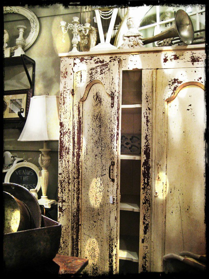 Distressed Wood Can Help Make Charming Bedroom Furniture. Find This Pin And  More On Second Hand Rose ...