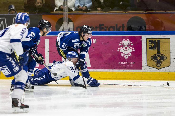 Leksands Martin Karlsson and Karlskogas Oskar Lindgren, HockeyAllsvenskan 2015-16 FIGJAM