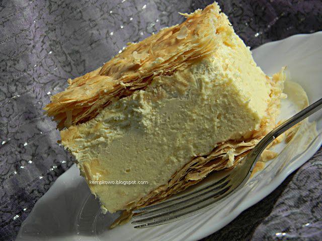 Wiem, co zjem...!: Kremówka - najlepsza na świecie :)