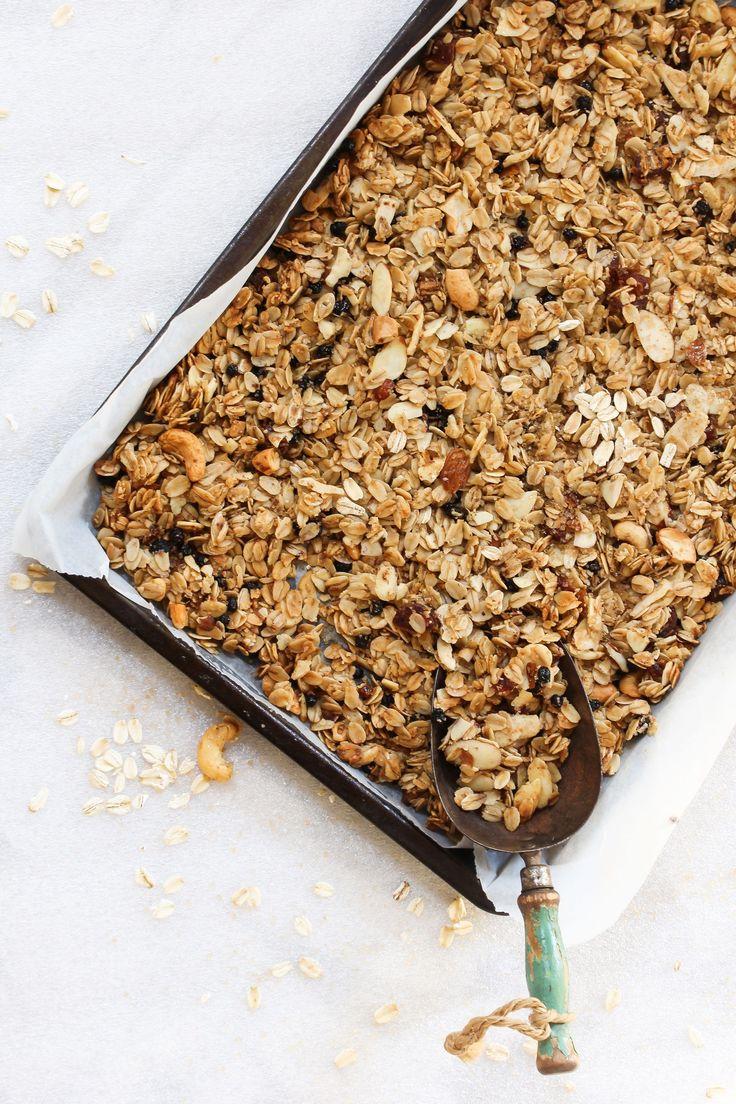 Granola selber machen: Leckerer Knusper-Spaß ohne Zucker!