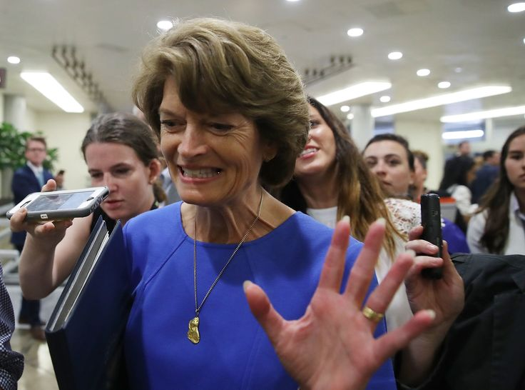 At Last, Lisa Murkowski Is Acting Like The Independent Many Alaskans Wanted | HuffPost