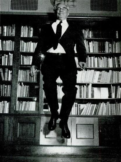paul tillich jumps from the Ground