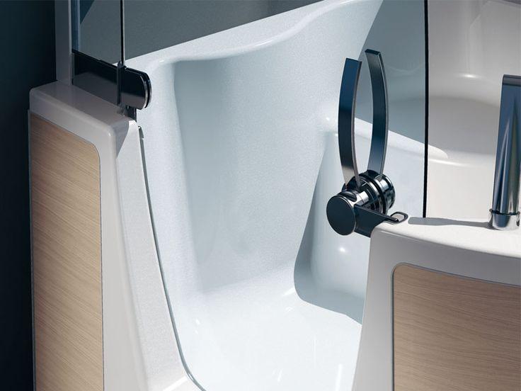 17 migliori idee su vasca da bagno doccia su pinterest vasche doccia bagno con tenda e - Vasche da bagno teuco ...