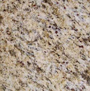 This is my favorite granite color- it has beautiful Browns, whites, and even grays.  St. Cecilia Granite Kitchen Countertop