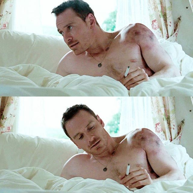 """Michael as Chad Cutler in """"Trespass Against Us"""". ~ I died. He looks SO GOOD, I can't breathe! #MichaelFassbender #Fassy #Fassbender #TrespassAgainstUs"""
