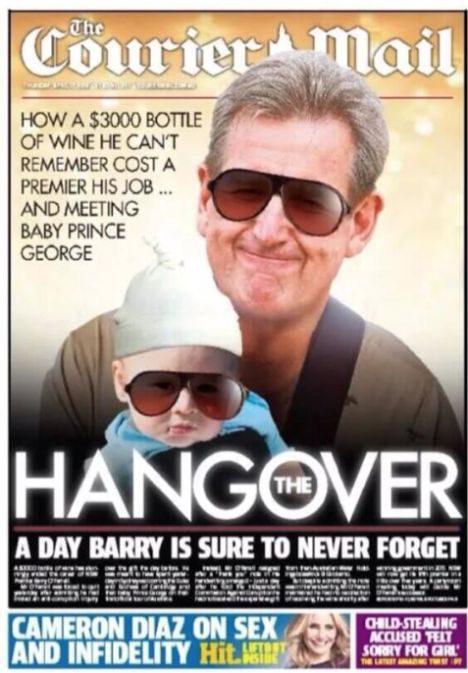Barry O'Farrell on Courier Mail