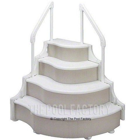 22 Best Pool Steps And Ladders Images On Pinterest Ladder Pool - Wedding Cake Ladder Pool