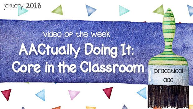 Video of the Week --- AACtually Doing It: Core in the Classroom