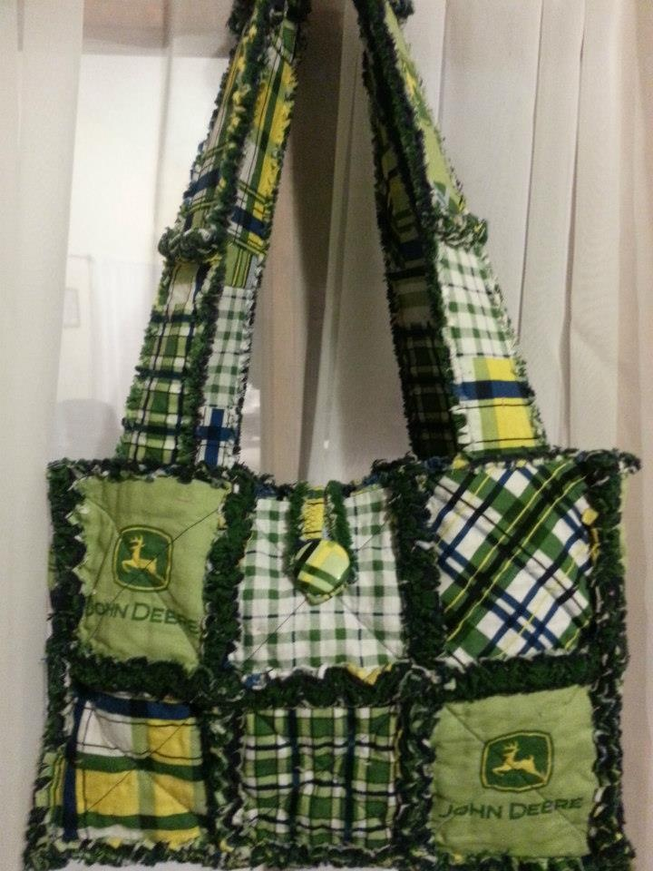 1000 Ideas About Rag Quilt Purse On Pinterest Quilted
