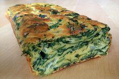 Veja aqui como fazer uma delicioso bolo salgado de espinafre com ingredientes naturais e saudáveis!