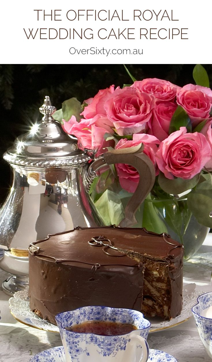 The Official Royal Wedding Cake Recipe - Darren McGrady, former personal chef to the royal family for 15 years, shares the secret to making the chocolate biscuit cake that is not only the Queen's favourite tea cake but was also Prince William and Kate Middleton's wedding cake.