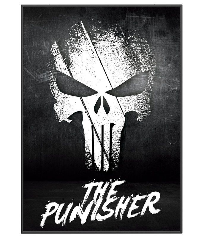 Poster O Justiceiro Team Six Punisher