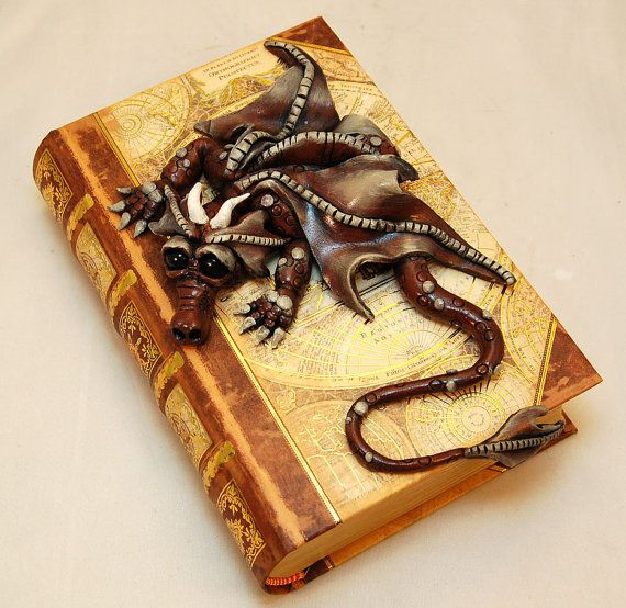 Polymer Clay Dragon Book
