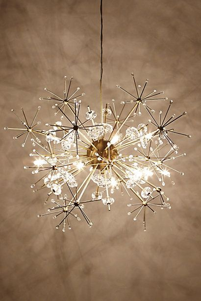 What a simple and nice chandelier based on super cute flowers! Come like us at https://www.facebook.com/nufloorsfortmcmurray